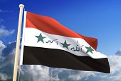 Iraq Flag (Clipping Path)
