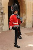 Guardsman on parade