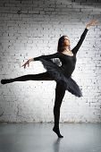 image of ballet dancer  - cute - JPG