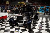 HELSINKI, FINLAND - OCTOBER 3: X-Treme Car Show, showing 1928 Ford Tudor on October 3, 2009 in Helsi