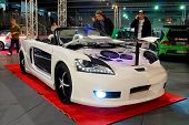 HELSINKI, FINLAND - OCTOBER 3: X-Treme Car Show, showing tuned 2000 Toyota MR-2 Spyder on October 3,