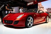 PARIS, FRANCE - SEPTEMBER 30:Ferrari SA APERTA at Paris Motor Show on September 30, 2010 in Paris
