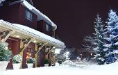 Christmas in Whistler, BC