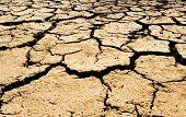 Cauce agrietado en Australia del sur