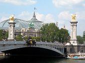 The New Opera And A Bridge In Paris