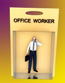 Toy Worker  poster
