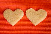 Almond Cookies In Love