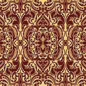 An antique seamless vector image