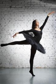 foto of ballet dancer  - cute - JPG