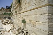 picture of tora  - wailing western wall - JPG