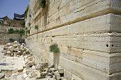 stock photo of tora  - wailing western wall - JPG