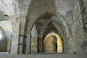 knight templer tunnel, akko, israel