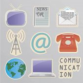 Communication stickers