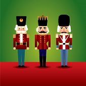 image of christmas ornament  - christmas nutcracker soldier - JPG