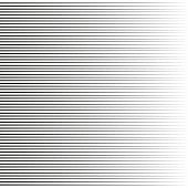 Horizontal Speed Lines For Comic Books.straight, Parallel Lines Abstract Geometric Texture, Monochro poster