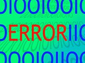 Error Warning