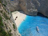 Shipwreck Beach In Zakynthos Greece 3