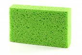 A clean green Super Absorbent & Anti bacterial cellulose sponge