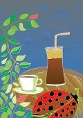wake up  frappe coffee