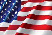 Vektor amerikanische Flagge