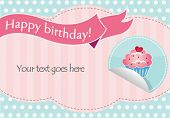Birthday flayer/poster template