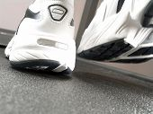Running Shoes Closeup (Brand New) poster