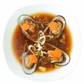 Mussel Soup With Cognac
