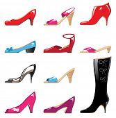 glossy shoes collection