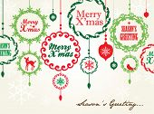 stock photo of christmas ornament  - Christmas Card - JPG
