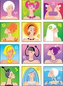 a summer horoscope is signs of zodiac - girls