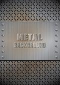 Metal template texture vector