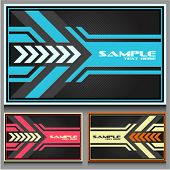 business cards set 32