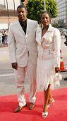 LOS ANGELES - APRIL 18: Denzel Washington; wife Pauletta at the 'Man On Fire' premiere on April 18,