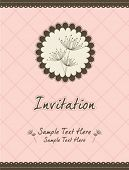 dandelion invitation template 07
