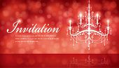 Luxury Chandelier background 06