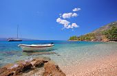 Boats At Bay On The Island Of Brac