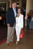 LOS ANGELES - AUG 2:  Helmut Huber, Susan Lucci arrives at the Cable TCA Press Tour at Beverly Hilto