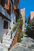 Narrow Street. Chania.