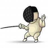 Athlete Fencer