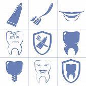 Dental Icons For Websait