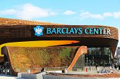 Neueste Sport-Arena Barclays center in Brooklyn, New York