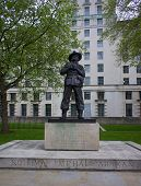 Statue Of Field Marshall Slim