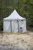 Carnival Tent Alone In The Woods