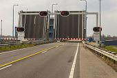 Open Drawbridge, Route 57 - Netherlands