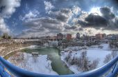 Rochester, Ny Skyline In Hdr