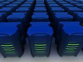 Hosting-Serverfarm