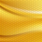 Golden metallic seamless texture