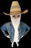 Bandaged Funny Cowboy