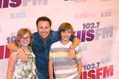 LOS ANGELES - MAY 11:  Chris Harrison, his children attend the 2013 Wango Tango concert produced by KIIS-FM at the Home Depot Center on May 11, 2013 in Carson, CA