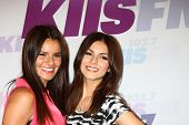 LOS ANGELES - MAY 11:  Madison Grace Reed, Victoria Justice attend the 2013 Wango Tango concert produced by KIIS-FM at the Home Depot Center on May 11, 2013 in Carson, CA